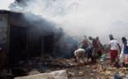 Côte d'Ivoire : Son magasin part en fumée…Voici ce qui lui arrive par la suite!