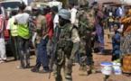 Photo : Gambie : Les soldats de la Cedeao à Banjul pour sécuriser l'arrivée d'Adama Barrow