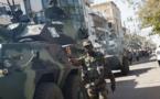 ( 23 PHOTOS) Gambie: les troupes de la CEDEAO sécurisent le palais présidentiel