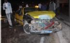 Vidéo-photos: Collision entre trois taxis à hauteur de Nord Foire