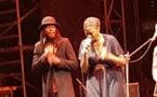 La chanteuse Awa Ly et Fadda Freedy samedi dernier au CCF