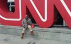 Mère Dial au siège de la chaîne américaine CNN