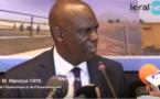 Keur Momar Sarr : Mansour Faye annonce des travaux hardies pour renforcer la production et la sécurité au niveau électrique  (Vidéo)
