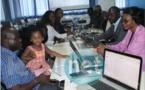 Photo-Session de Formation et de Renforcement de Capacités des membres du Réseau des Jeunes Entrepreneurs Numériques Francophones sur la cartographie