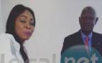 Aby Ndour et l'ancien président Abdou Diouf en quelques clichés