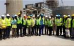 Photos- Visite de la Centrale électrique au charbon de Bargny (SENELEC)