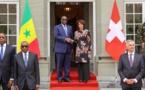 La Présidente de la Confédération suisse Doris Leuthard reçoit le Président Macky SALL pour des honneurs militaires et une réunion de travail