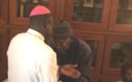 (06 Photos) L'église catholique à Tivaouane pour présenter ses condoléances au Khalife de Tivaouane Al Amine