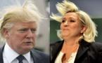 Donald Trump et Marine Le Pen, une ressemblance troublante