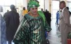 Photo-Aminata Mbengue Ndiaye splendide dans son grand boubou Thioup dans l'hémicycle!!