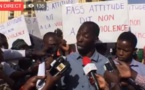 Suivez la conférence de presse des habitants de Fass Gueule Tapée Colobane en direct sur leral.net