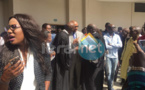 (04Photos) Abdoul Mbaye et son épouse à la sortie du Tribunal