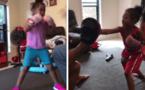 Cette petite fille de 4 ans, a de l'énergie, et elle boxe comme une pro, impressionnant ! (vidéo)