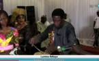 Lamine Ndiaye montre ses talents de percussionniste