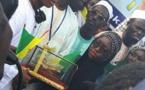 7 photos :  Mouhammed Moudjtaba Diallo et Mame Diarra Ngom GOM accueillis triomphalement à l'aéroport de Dakar
