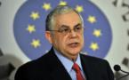 """Grèce: L'ex Premier ministre Papademos """"sérieusement"""" blessé par l'explosion d'un engin piégé"""