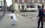 Vidéo : Une battle de jongles entre un policier et une bonne soeur !