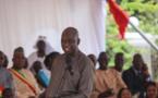 L'allocution du Maire de saint-Louis; Mansour FAYE sur la Place Faidherbe, lors de remise d'appuis aux pêcheurs (vidéo)