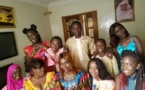 Photos : Coumba Gawlo Seck fête la Korité en famille