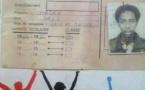 Photo archive : la  licence UASSU de l'étudiant Macky Sall