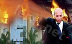 [Vidéo - Photo] Le siège de l'Anoci prend feu, Karim WADE bloqué dans l'ascenseur sauvé par les militaires français