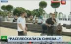 En Russie: Un journaliste reçoit un coup de poing en direct