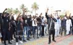 Les images du sit-in du front-Anti CFA à la place de Nation