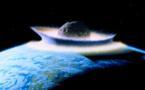 L'astéroïde qui a éliminé les dinosaures, aurait plongé la Terre dans l'obscurité durant 2 ans.