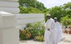 (13 photos ) Tabaski 2017: Le Président Macky SALL à la Grande Mosquée de Dakar