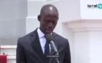 Discours de Maxime Jean Simon Ndiaye, le Secrétaire Général de la Présidendce