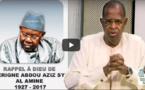 Témoignage de Sidy Lamine Niasse sur Serigne Abdou Aziz SY Al Amine