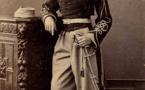HISTOIRE : Louis, le fils de Faidherbe et de Diocounda SIDIBE, mourut de la fièvre jaune en 1881 à l'âge de 24 ans.