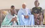 Condoléances: L'ancien président Me Abdoulaye Wade chez Coumba Gawlo Seck