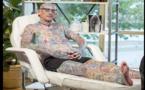 A la découverte de Paul Allen, l'homme aux 800 tatouages (photos)