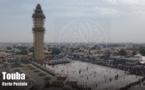 Carte Postale: Vue aérienne de la merveilleuse Mosquée de Touba