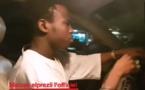 Vidéo: Sidy Diop au volant de sa voiture chante Momo Dieng