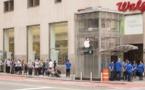 iPhone X : ils créent un faux Apple Store, les passants forment une immense file d'attente !