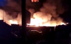 Incendie infernal au parc Lambaye de Pikine