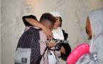 Vidéo-photos: Retrouvailles émouvantes entre Viviane et ses enfants Phillippe et Zeyna à Paris...Regardez!