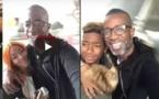 Vidéo - Après Bercy: Bouba Ndour au restaurant avec ses deux enfants Philipe et Zeyna...