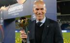Zinédine Zidane, le deuxième coach le plus titré de l'histoire du Real Madrid