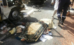 [Photos] - ACCIDENT GRAVE SUR LA RN N°1 Bilan : 11 morts et quatre blessés dont 2 graves