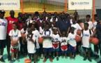 Images: AKON offre une école aux habitants de Yopougon (Abidjan)
