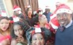 Photos - Mbaye Dièye Faye fête Noël en famille