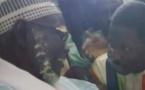 Regardez l'arrivée de Talla Sylla maire de Thiès à Touba, Après 3 jours de longue marche