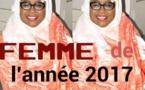 Adji Mergane Kanouté élue Femme de l'année 2017 par les internautes kaolackois