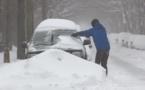 Vent violent, neige et verglas attendus dans 18 départements