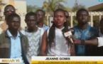 Jeanne Gomis, présidente de la coordination des étudiants de l'UGB, crie leur ras-le-bol
