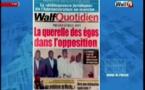 Revue de Presse WalfTv du Lundi 22 janvier 2018 en images