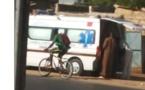 Incroyable mais vrai : Une Ambulance médicalisée de Ndioum Nguent transportant une chambre à coucher en pleine ville de Kaolack